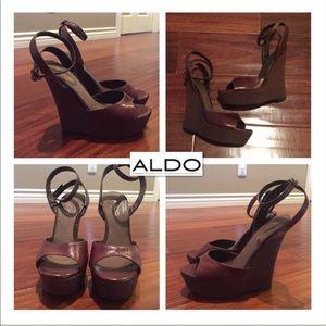 Aldo, Hardney  Wedge Sandals
